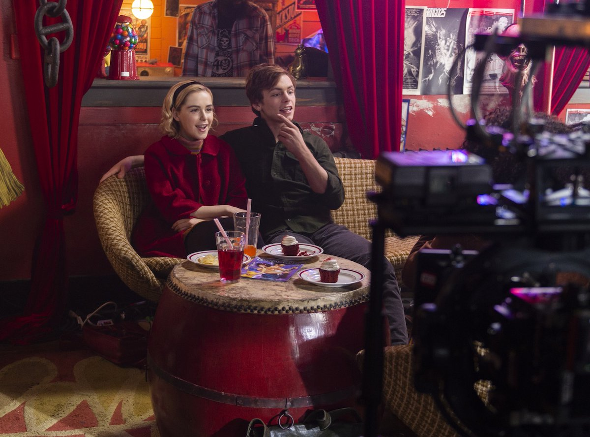 Chilling Adventures of Sabrina BTS