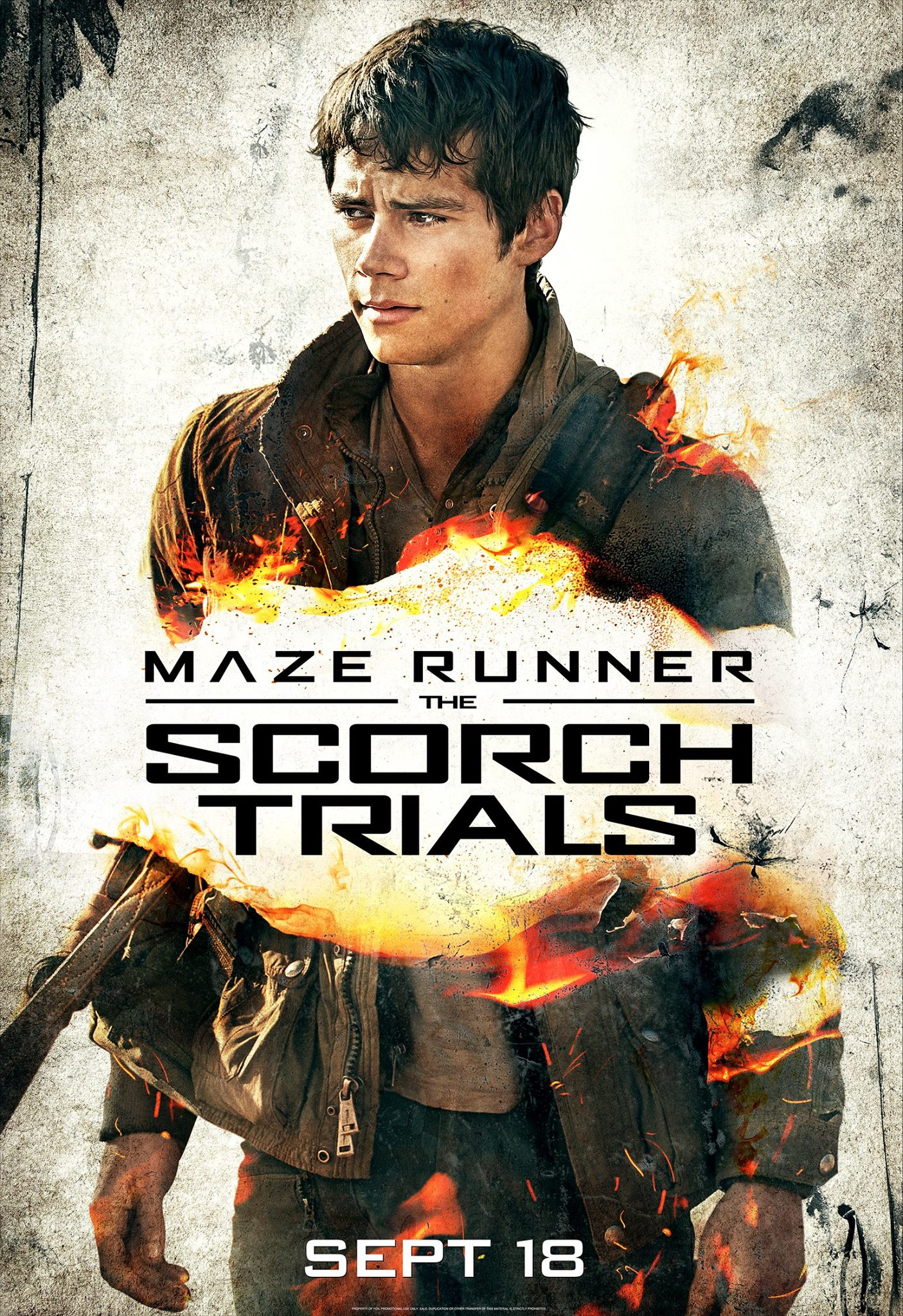 Maze Runner: The Scorch Trials Dylan O'Brien
