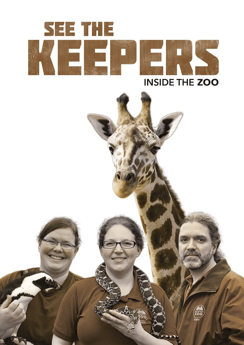 See the Keepers Inside the Zoo