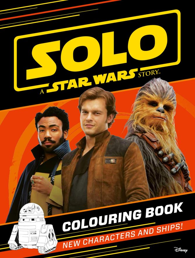 Solo Coloring Book