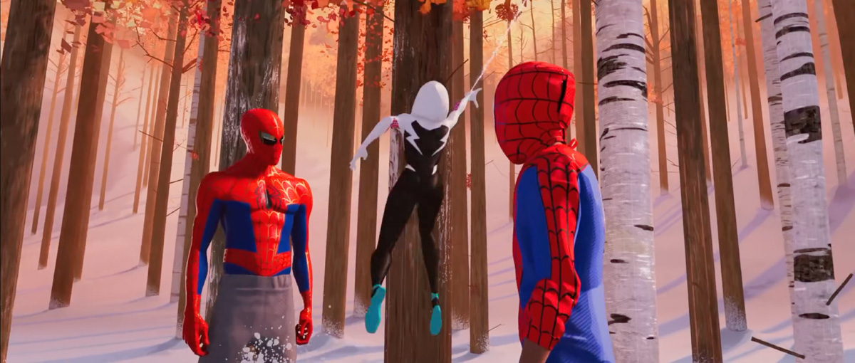 Spider-Man: Into the Spider-Verse Trailer Screenshots