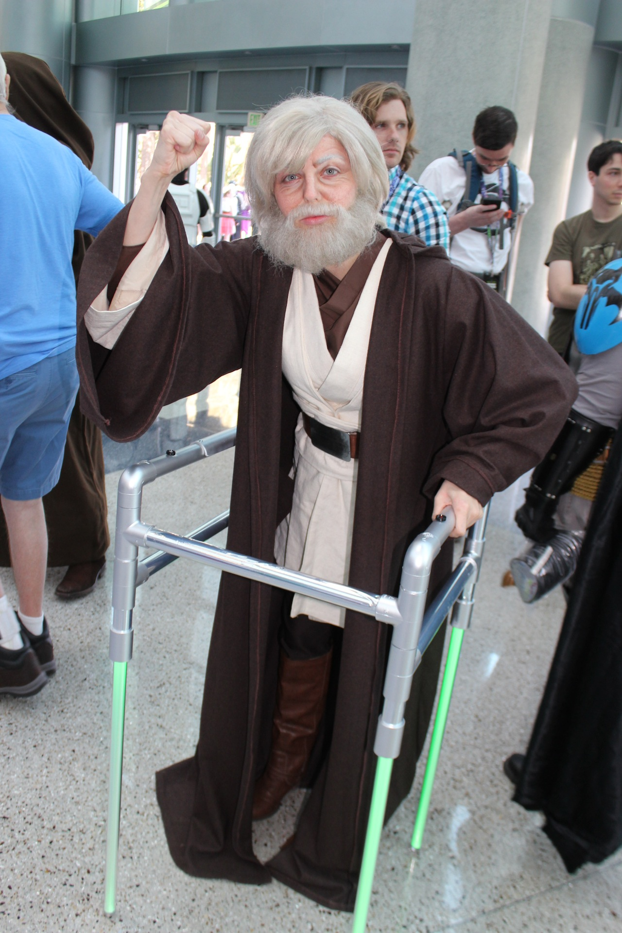 Celebrity star wars cosplay