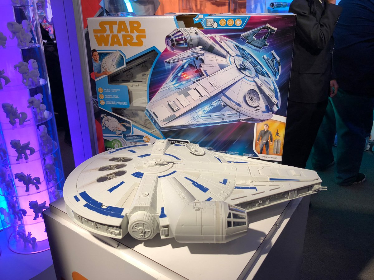 Star Wars Toys Hasbro : Hasbro star wars toy fair gallery with solo more