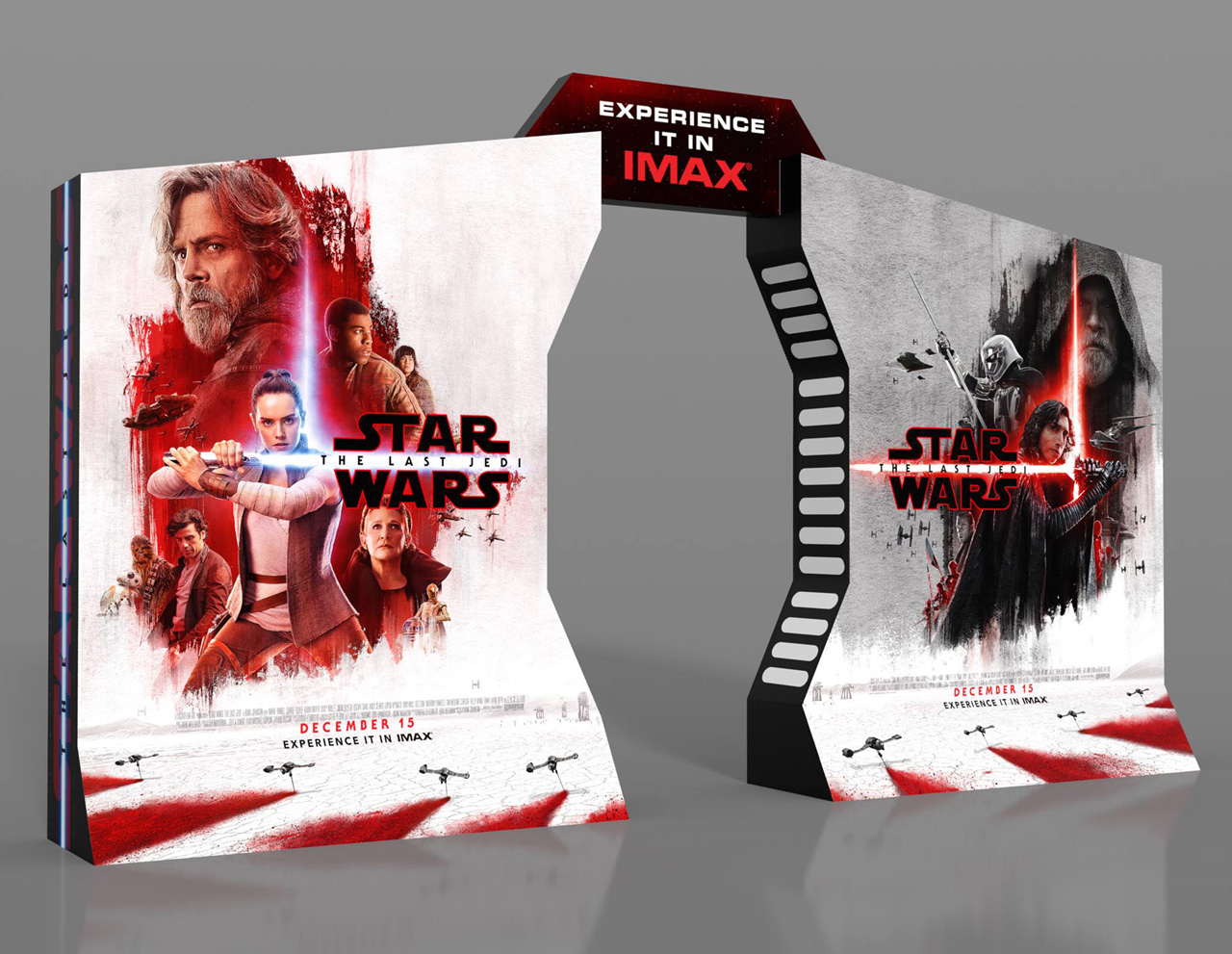 Star Wars: The Last Jedi IMAX Standee