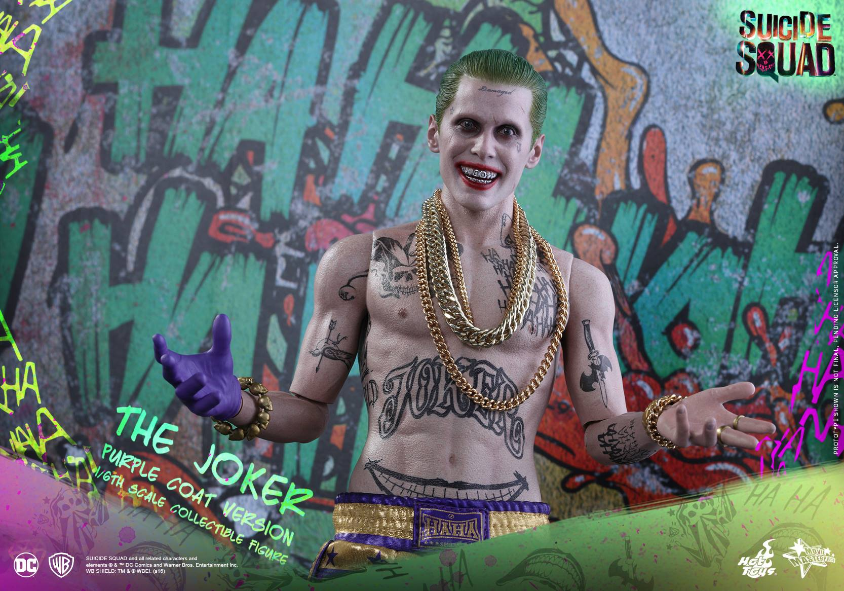 Suicide Squad Hot Toys - Joker (Purple Suit)