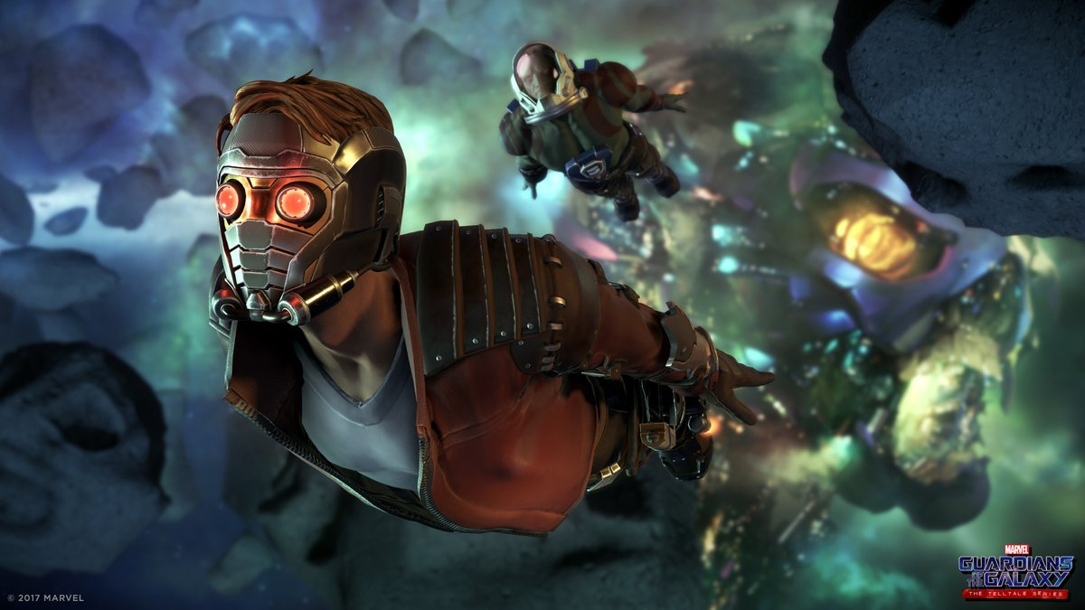 Telltale Guardians of the Galaxy series