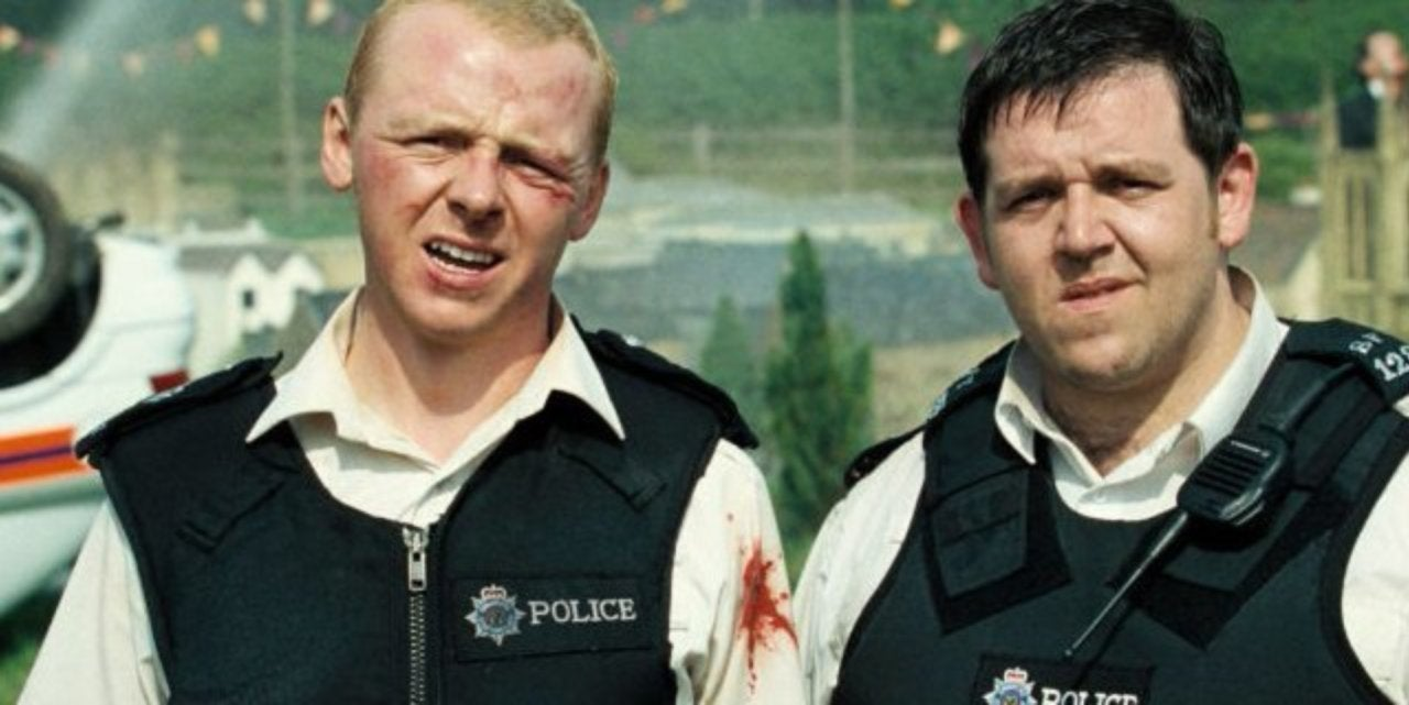 Angel and Butterman, Hot Fuzz (2007)