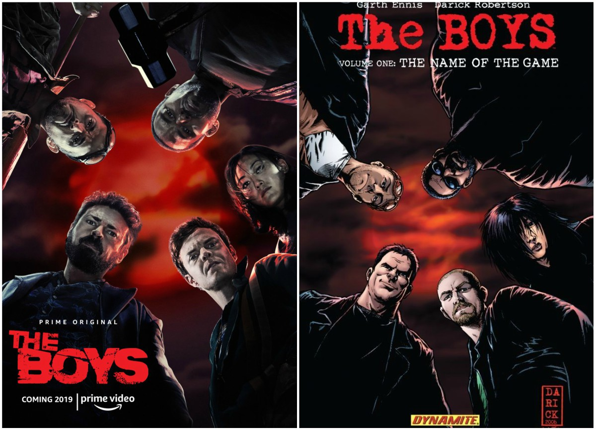 The Boys Comparison