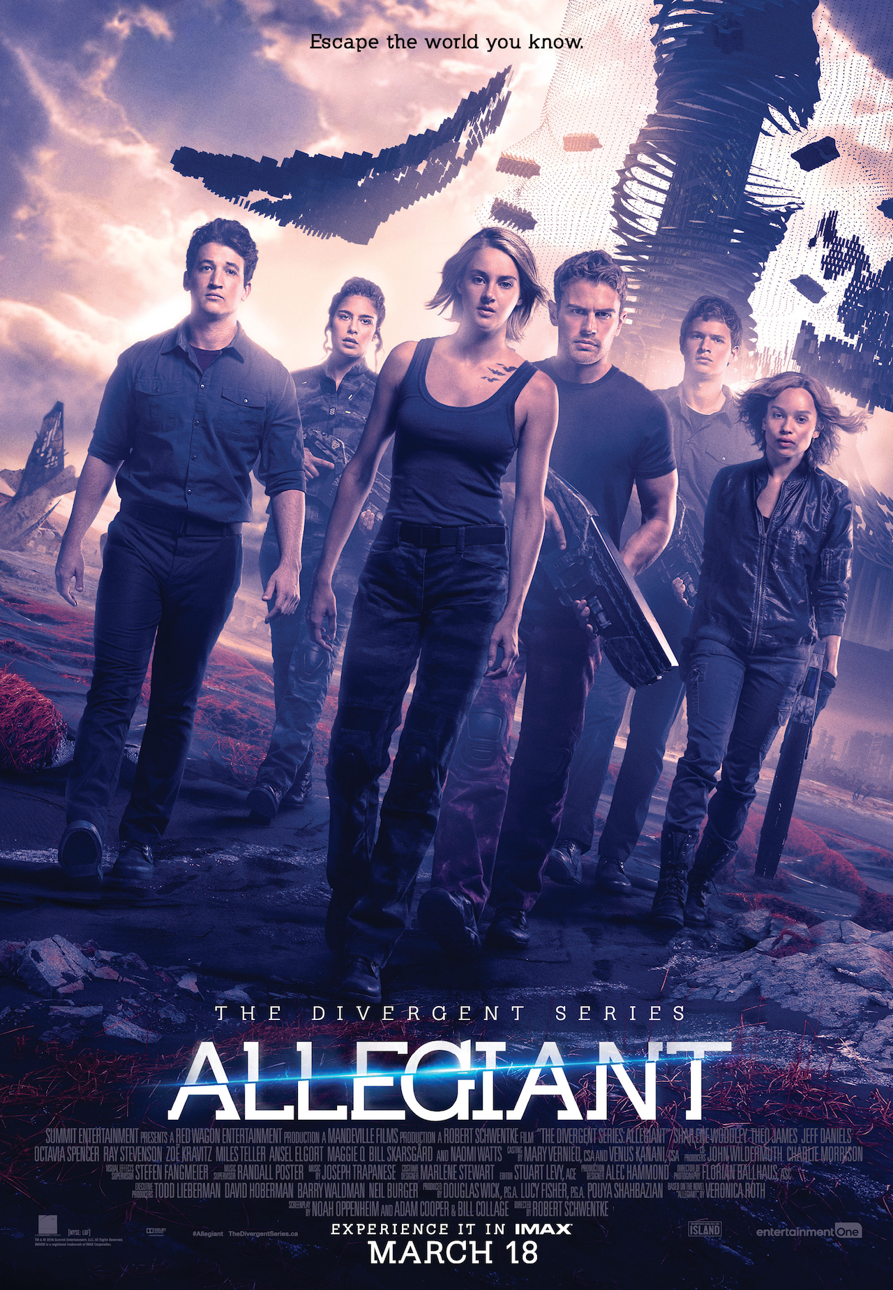 Lionsgate Releases The First Divergent Series: Allegiant Clip
