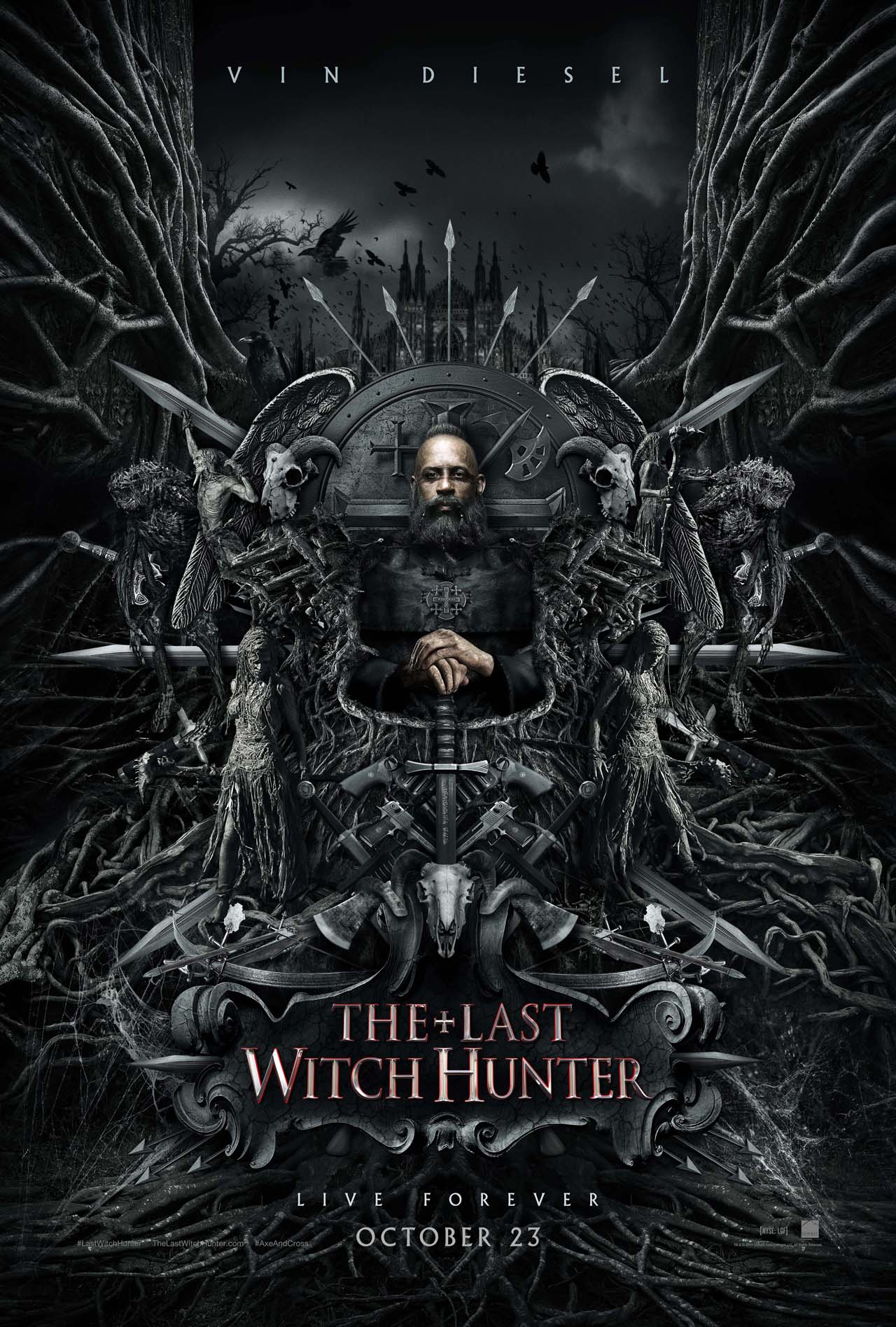 The Last Witch Hunter review: 99 problems but a witch ain't one