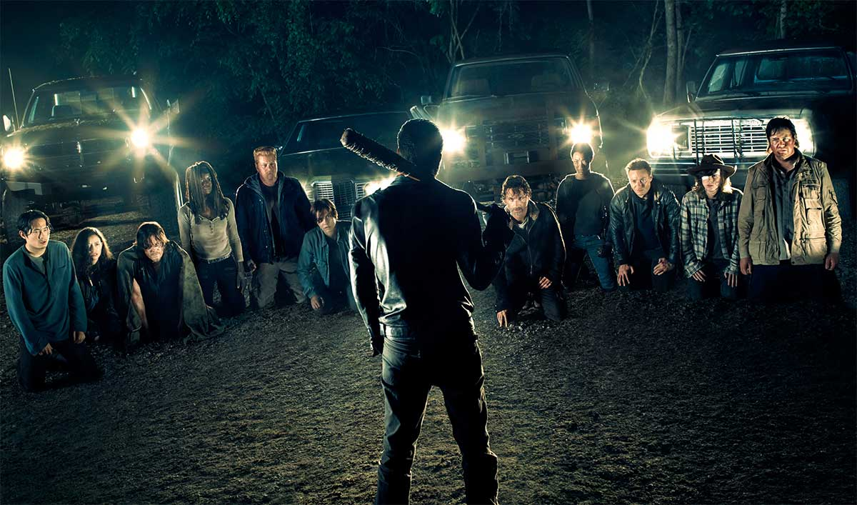 Watch Two Walking Dead Episode 7.03 Promos