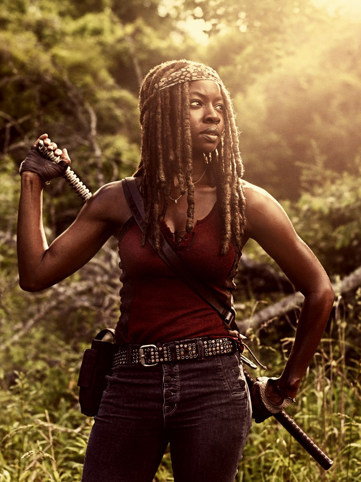 Danai Gurira as Michonne - The Walking Dead _ Season 9, Gallery- Photo Credit: Victoria Will/AMC