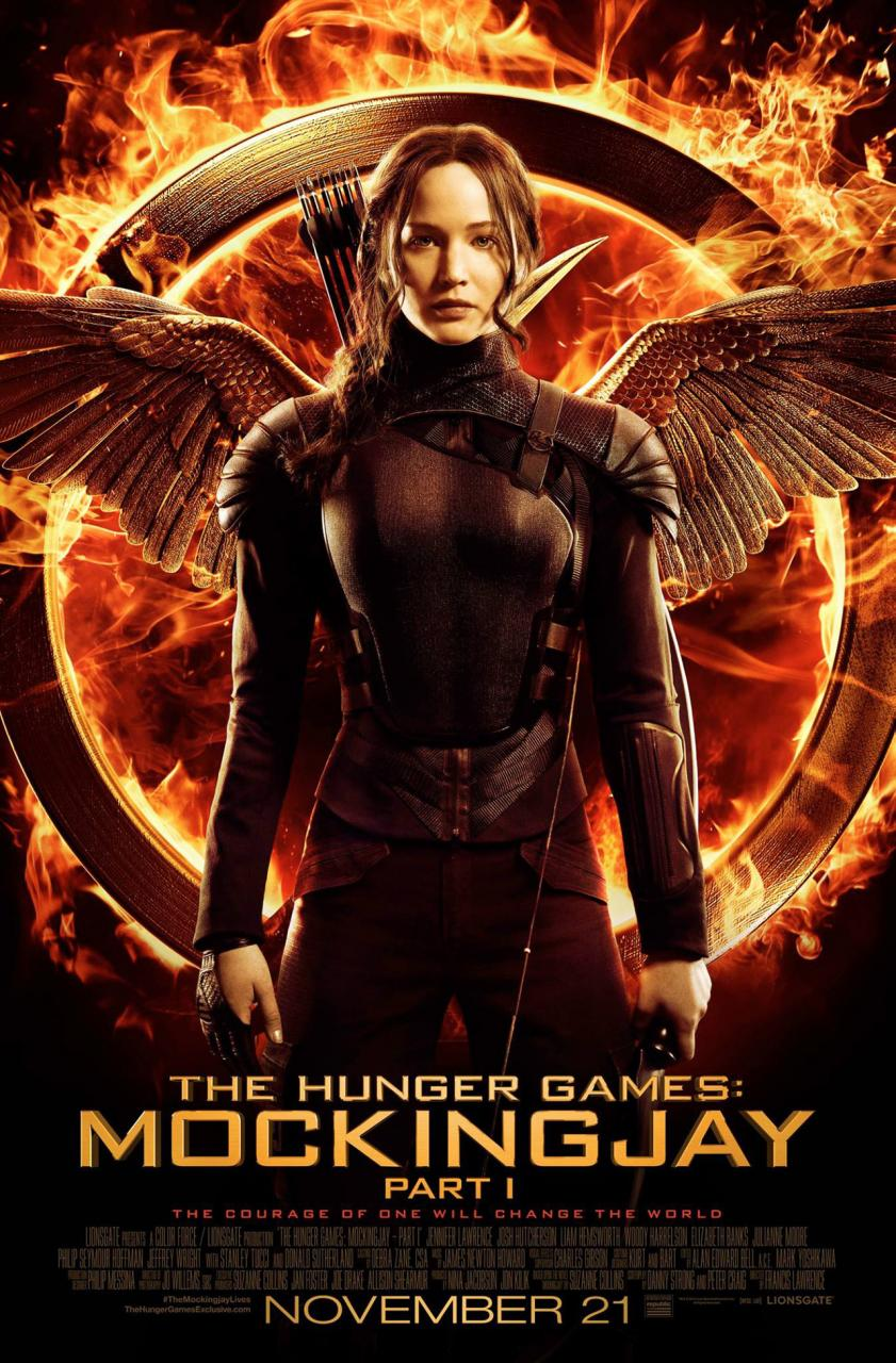 #5 The Hunger Games: Mockingjay - Part 1 (Lionsgate)