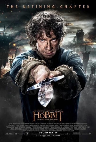 #1 The Hobbit: The Battle of the Five Armies (WB)