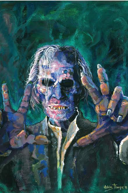 Grimsdyke (Peter Cushing) from Tales from the Crypt