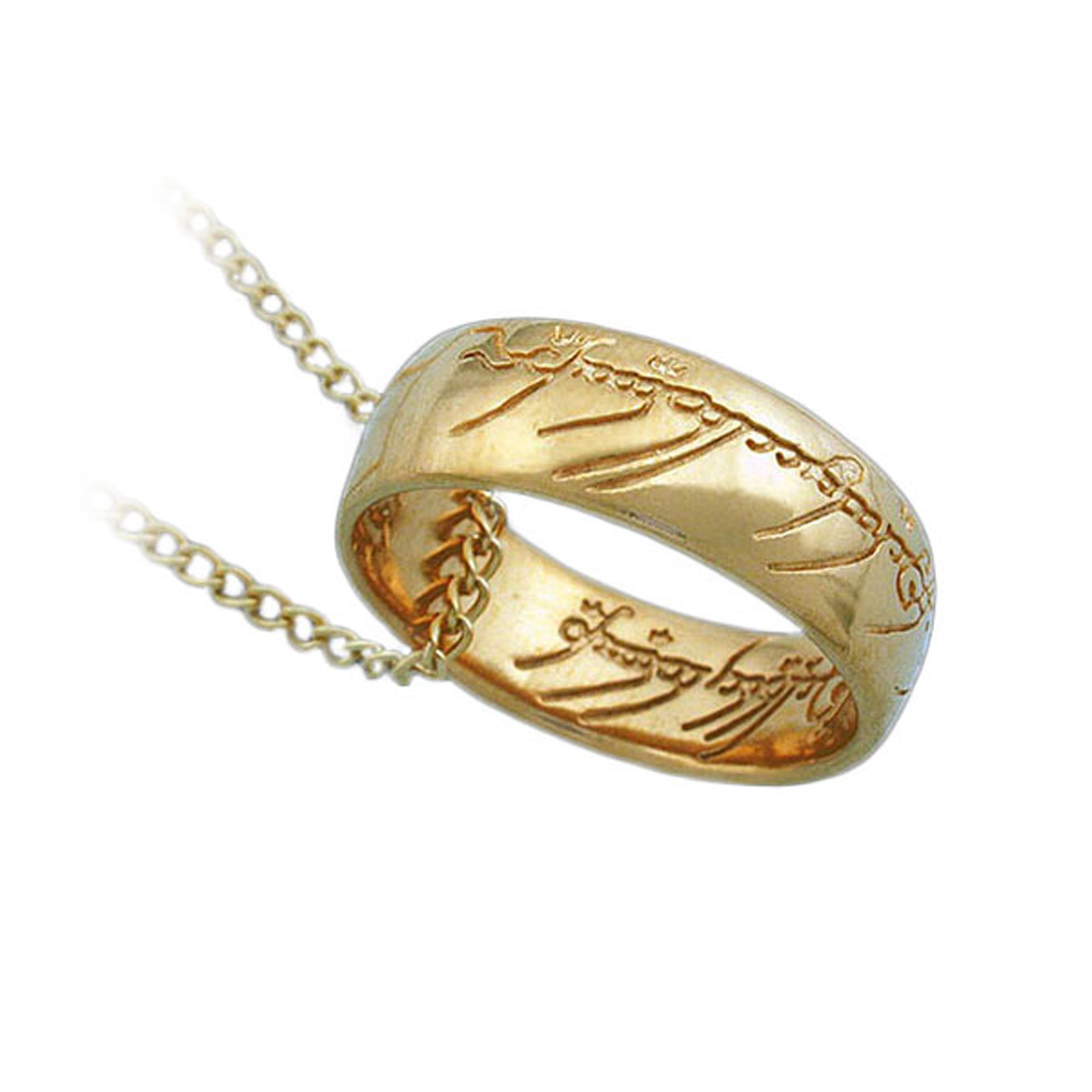 Gold The One Ring Necklace