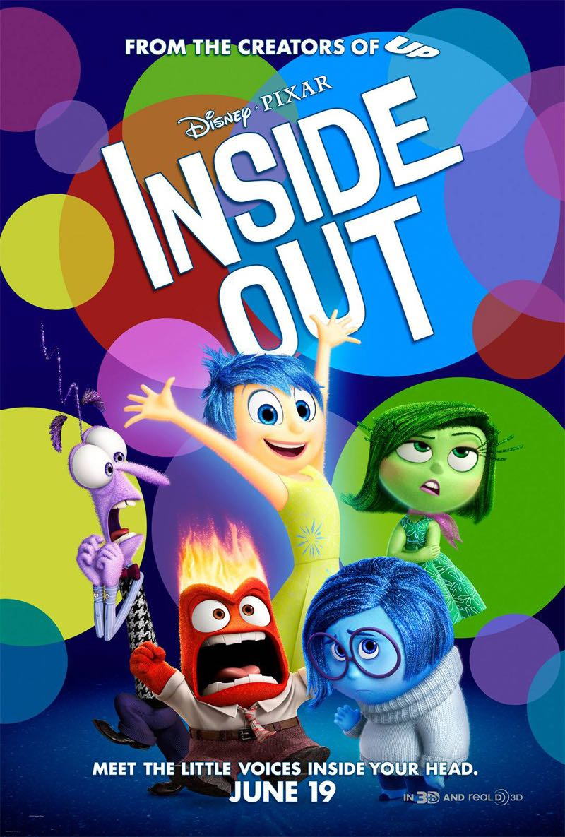 #4 Inside Out (Disney*Pixar)